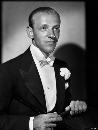 Fred Astaire Candid Shot in Classic Portrait Photo by E Bachrach