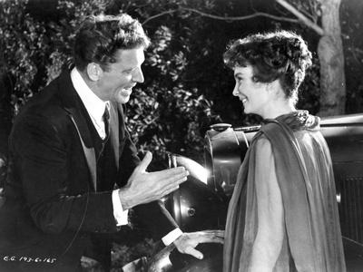 Elmer Gantry Couple Scene in Black and White Photo by  Movie Star News