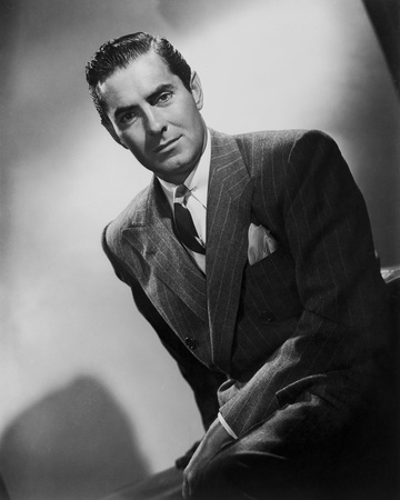 Tyrone Power 47 - Photograph Hollywood Print Photo by  Movie Star News