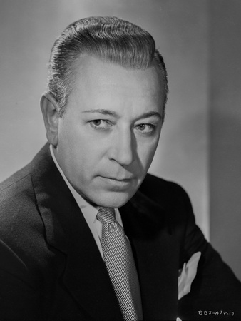 George Raft Posed in Suit with Straight Face Photo by E Bachrach