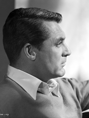 Cary Grant in long sleeves and collared shirt Photo by E Bachrach