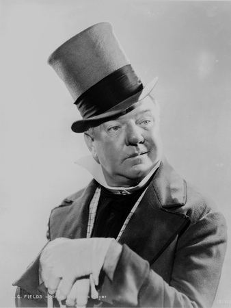 W C Fields The Comedian wearing a Top Hat Photo by  Movie Star News