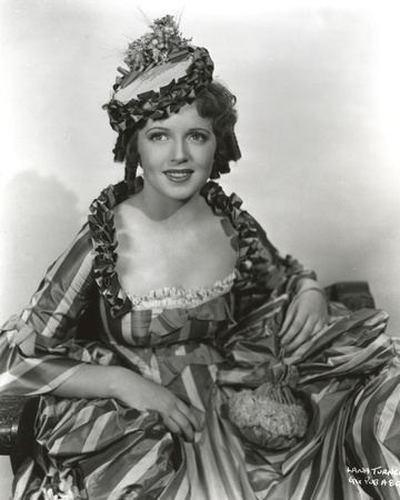 Lana Turner Portrait in Old Irish Dress Photo by  Movie Star News