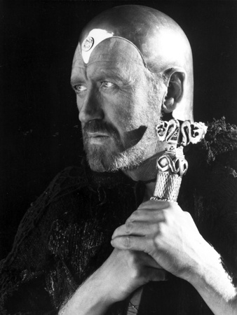 Nicol Williamson Posed in Black Portrait Photo by  Movie Star News