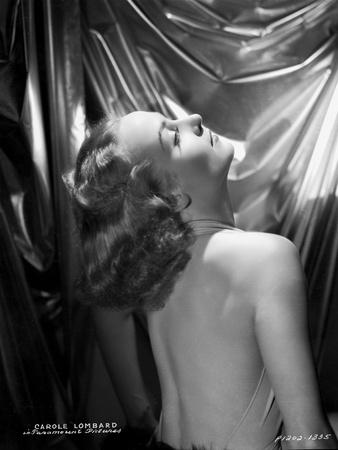 Carole Lombard wearing a Backless Dress Photo by  Hurrell