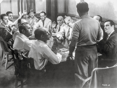 Twelve Angry Men Conference Room Scene Photo by  Movie Star News