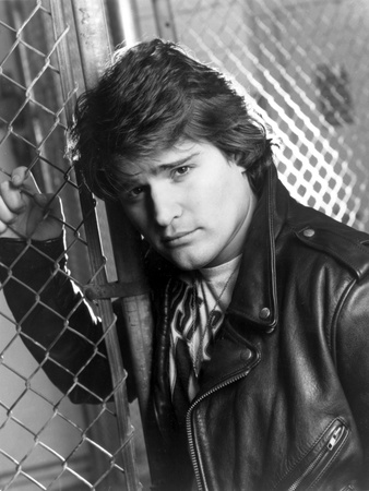 Peter Deluise in Leather Jacket Portrait Photo by  Movie Star News