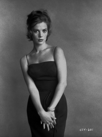 Natalie Wood posed in a Black Dress Photo by  Movie Star News