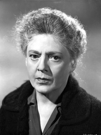 Ethel Barrymore on a Dark Top Staring Photo by  Movie Star News