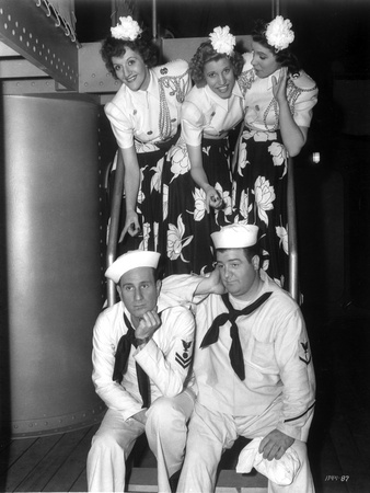 Andrew Sisters Sailor Attire Portrait Photo by  Movie Star News
