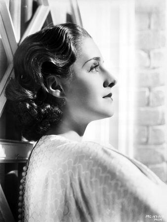 Norma Shearer Looking Away in Classic Foto af  Movie Star News