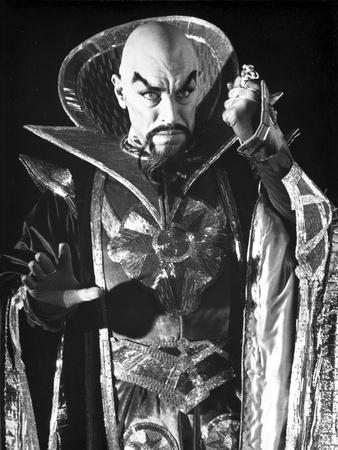 Max Von Sydow Posed in Demonic Attire Photo by  Movie Star News