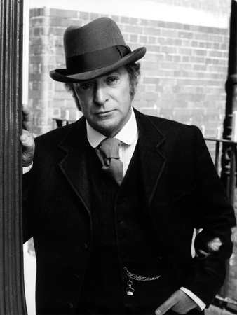 Michael Caine in Black Suit With Hat Photo by  Movie Star News