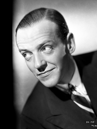 Fred Astaire Smirking in Formal Attire Photo by E Bachrach