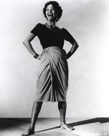 Dorothy Dandridge laughing in Classic Photo by  Movie Star News