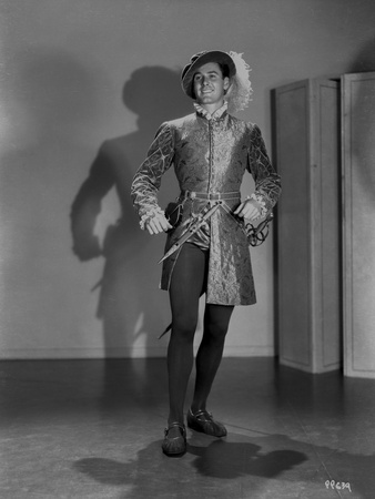 Errol Flynn Posed in Pirate Costume Photo by  Movie Star News