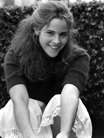 Ally Sheedy Posed in Classic Photo by  Movie Star News