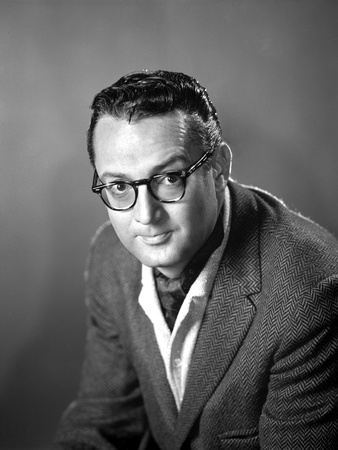 Steve Allen Black With Eyeglasses Photo by  Movie Star News