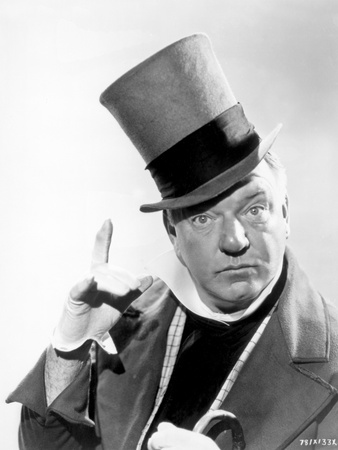 W C Fields Man on Magician's Hat Photo by  Movie Star News