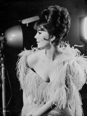 Natalie Wood posed in Tassel Dress Photo by  Movie Star News