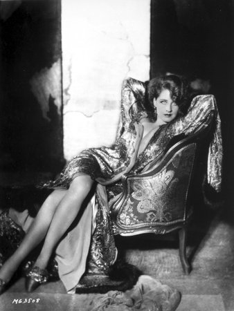 Norma Shearer Reclining in Classic Foto af  Movie Star News
