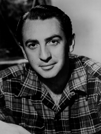 Macdonald Carey Posed in Polo Photo by  Movie Star News