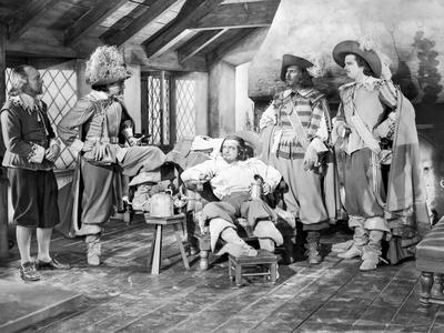 Three Musketeers Movie Scene Photo by  Movie Star News