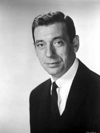 Yves Montand Portrait Classic Photo by  Movie Star News