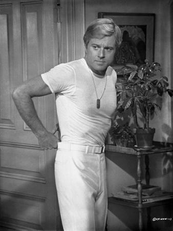 Robert Redford in White Shirt Photo by Frank Shugrue