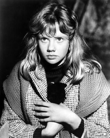 Hayley Mills in Printed Coat Photo by  Movie Star News
