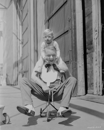 W C Fields Old Man on Tricycle Photo by  Movie Star News