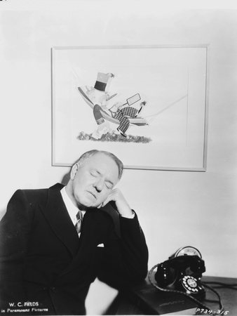 W C Fields Head Leaning on Hand Photo by  Movie Star News