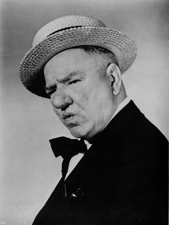 W C Fields Classic Portrait Photo by  Movie Star News