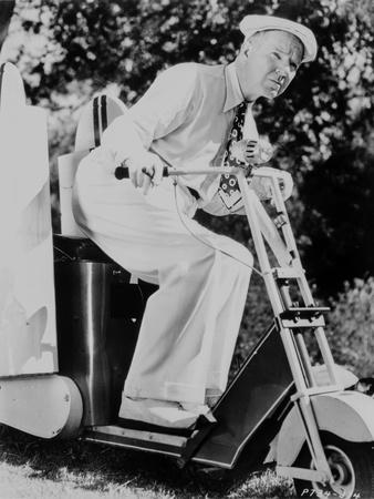 W C Fields on a Vehicle Photo by  Movie Star News