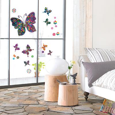 My Pretty Butterflies Pencere Çıkartmaları