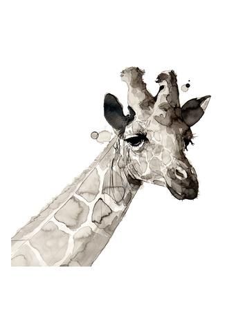 Giraffe Prints by Philippe Debongnie