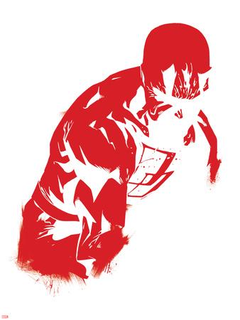 Marvel Knights - Daredevil Art Design Poster