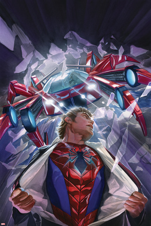 The Amazing Spider-Man No. 8 Cover Featuring Parker, Peter, Spider-Man Prints by Alex Ross