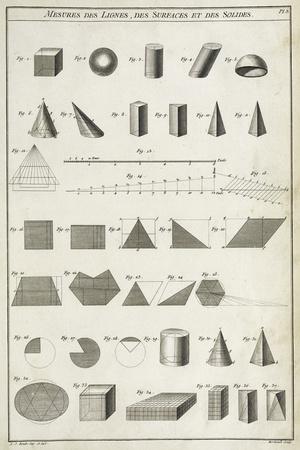 Mesures des Lignes Giclee Print by Chris Dunker