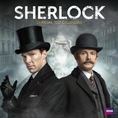 Sherlock - 2017 Calendar Kalendarze