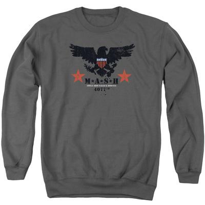 Crewneck Sweatshirt: Mash- Eagle Shield Shirt