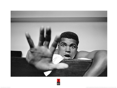 Muhammad Ali- Give Me Five Poster