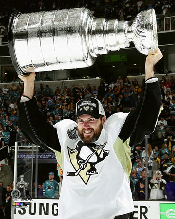 Ben Lovejoy with the Stanley Cup Game 6 of the 2016 Stanley Cup Finals Photo