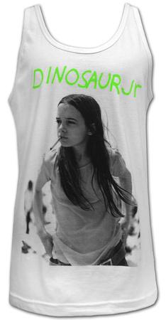 Juniors Tank Top: Dinosaur Jr.- Green Mind Womens Tank Tops