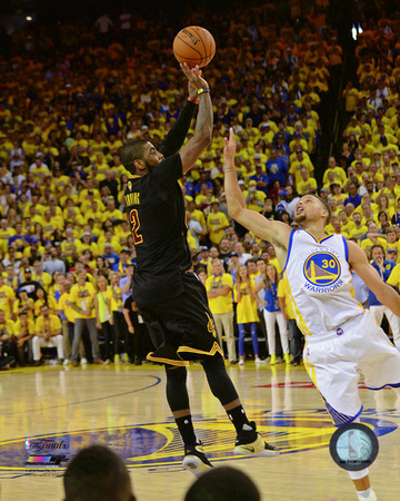 Kyrie Irving Three Pointer Game 7 of the 2016 NBA Finals Photo