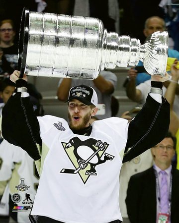 Matt Murray with the Stanley Cup Game 6 of the 2016 Stanley Cup Finals Photo