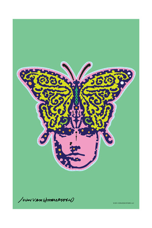 Butterfly – John Van Hamersveld Poster Artwork Posters by  Lantern Press