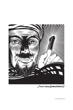 Magician - John Van Hamersveld Poster Artwork Posters by  Lantern Press