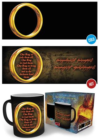 Lord Of The Rings - One Ring Heat Change Mug Mug