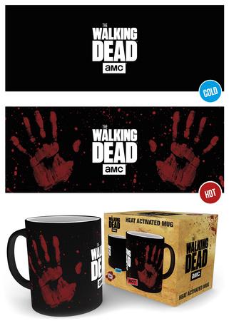 The Walking Dead - Handprint Heat Change Mug Mug